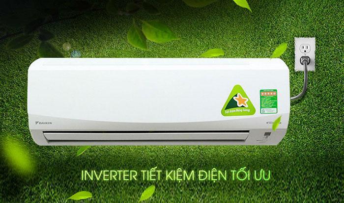 Công nghệ biến tần Inverter trên máy lạnh Daikin