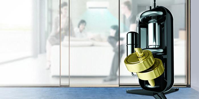 Máy nén DUAL Inverter của LG có khả năng làm lạnh nhanh, vận hành bền bỉ và hoạt động êm ái.
